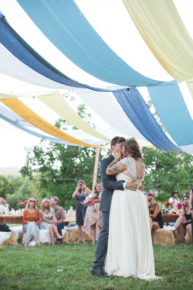 Summer Backyard BBQ Wedding
