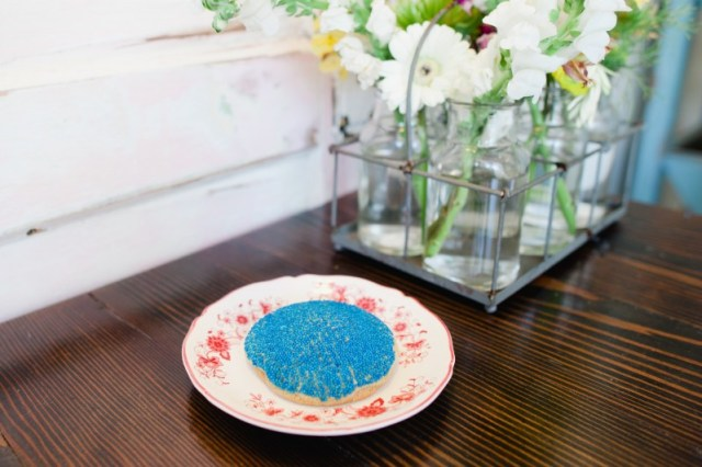 Oh Lovely Day gender reveal at Milk Jar Cookies | photos by Hazelnut Photography & Film by SparkStory