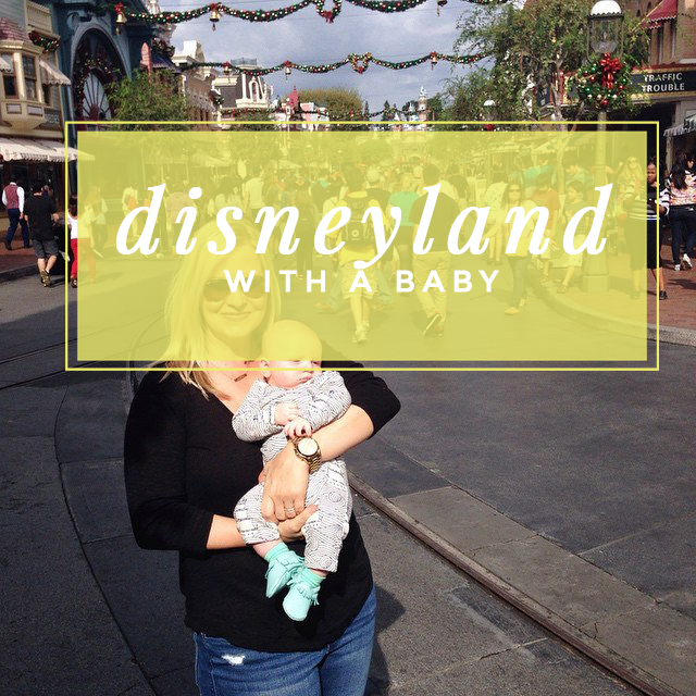 Lots of great tips for taking a baby to Disneyland, especially if you have older children also going.