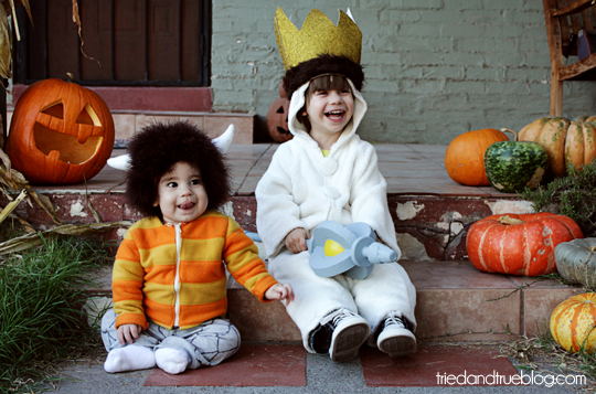 Favorite Halloween Costume Ideas for Pairs: Max & Moishe from Where The Wild Things Are | Oh Lovely Day