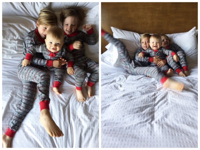 holiday traditions matching family christmas pajamas with hanna andersson and oh lovely day