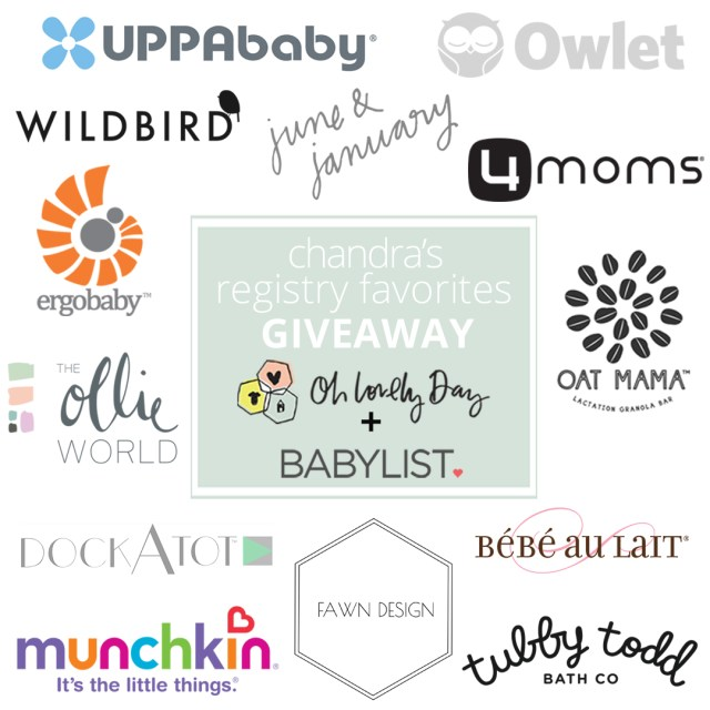 A mom of three shares her top picks to have on any baby registry, why you'll love them, plus a giveaway of her favorites valued at over $2500!