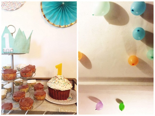 Quincy's colorful and cheery 1st birthday party | Oh Lovely Day