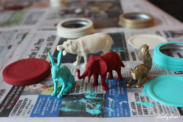 Peintures-pots-crayon animaux DIY-Oh-lovely-place