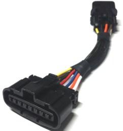 mass air flow sensor adapter 90 94 1g vr4  [ 1837 x 2399 Pixel ]