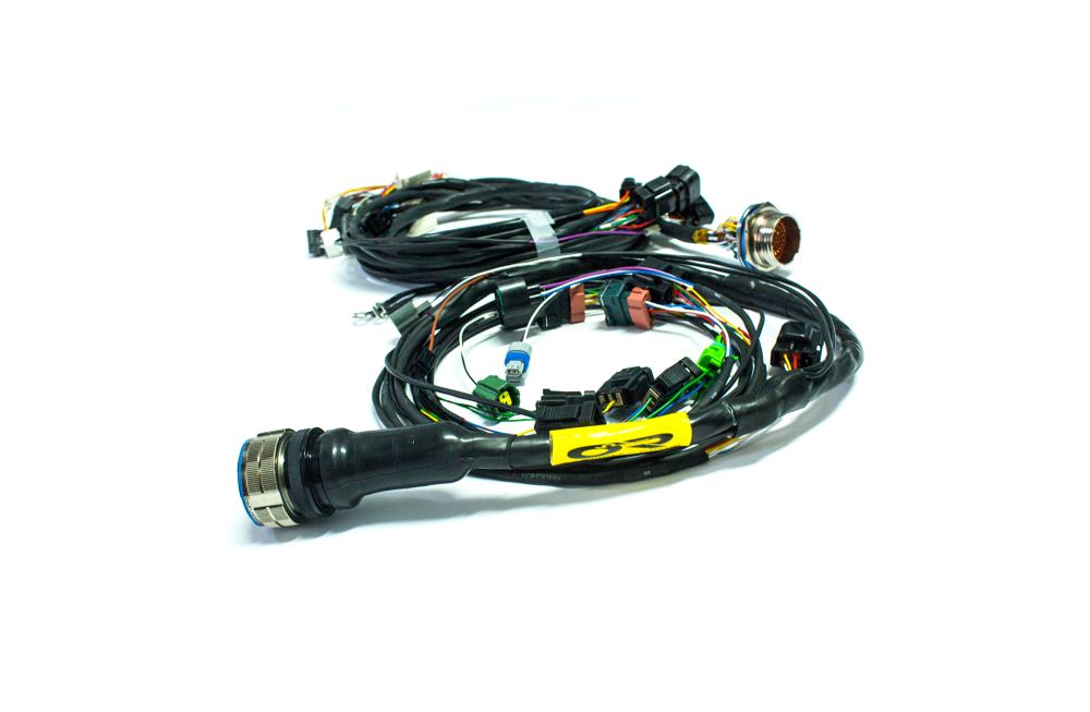 medium resolution of stage 3 u201ctucked u201d mil spec engine harness 95 99 2g dsm www ohm dsm wiring harness gauge