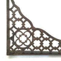 Antique Cast Iron Shelf Bracket