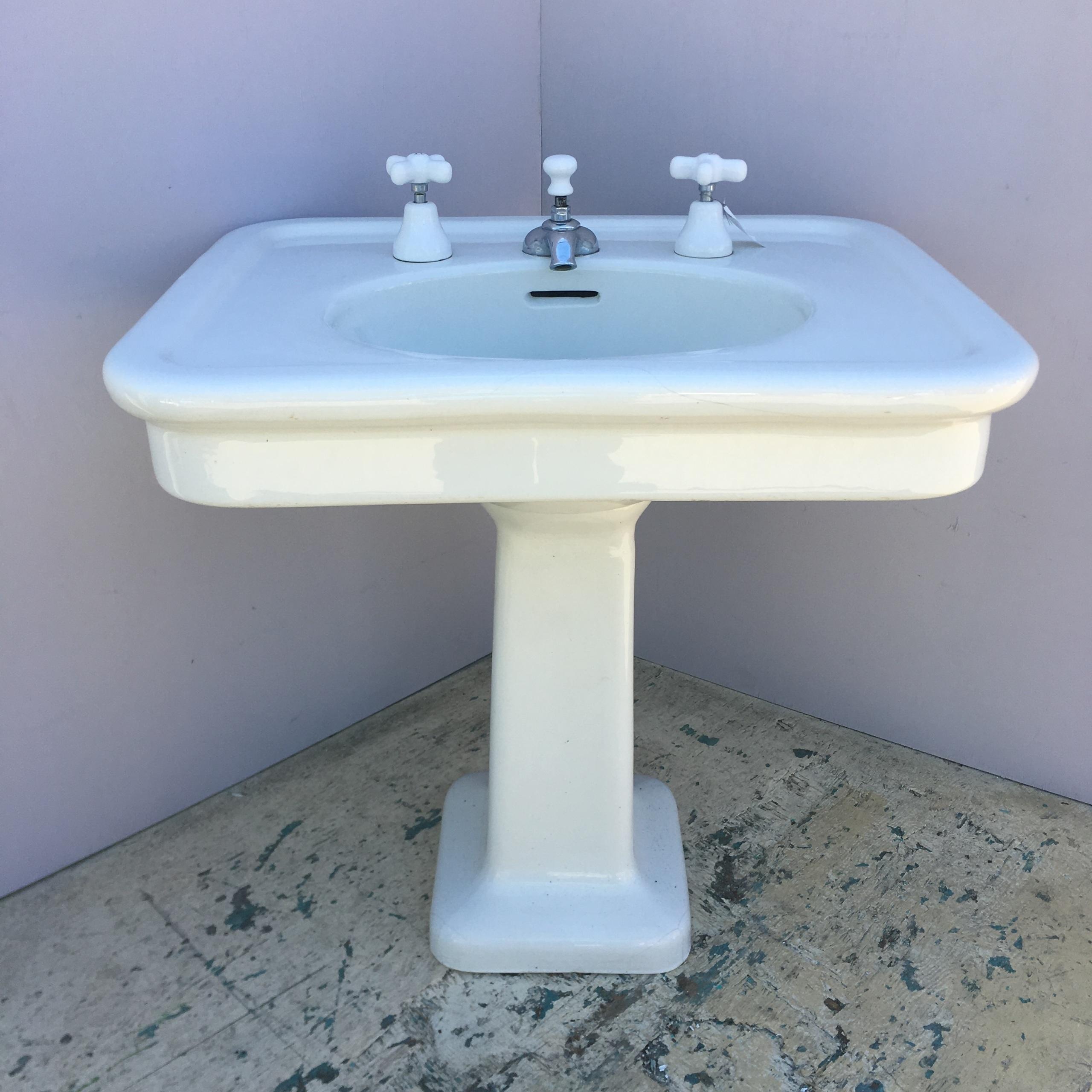 Crane Pedestal Sink