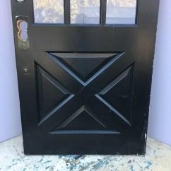 Kitchen Table Lighting Cabinets Kings 9 Lite Cross Buck Entry Door