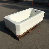 art deco corner bath tub