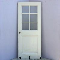 6 Lite Obscure Glass Entry Door