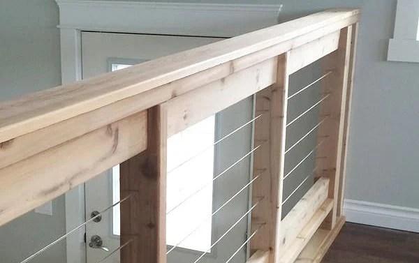 Diy Stair Railing Ideas Makeovers • Ohmeohmy Blog   Diy Glass Stair Railing   Cable Railing   Modern Stair Parts   Floating Staircase   Railing Ideas   Wood