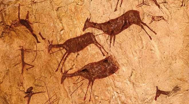 """""""No te creerás lo quele pasó a este Cro-Magnon cuando intentó cazar un caballo salvaje"""""""