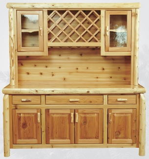 Hutches Sideboards  Buffets  Owls Head Rustics