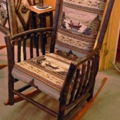Comfortable Folding Chairs Plastic For Kids Rustic Rockers | Owls Head Rustics