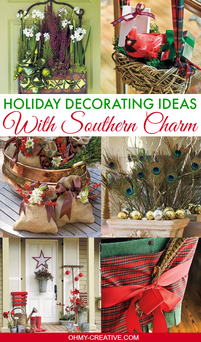 Decorating Ideas For Rentals: Holiday Decorating Ideas With Southern Charm