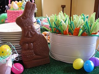 Easter Theme Birthday Party