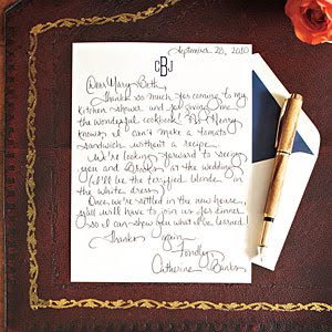 Writing A Thoughtful Thank-You Note
