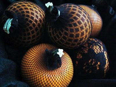 Sexy Vintage Pumpkins – Pantyhose Pumpkins
