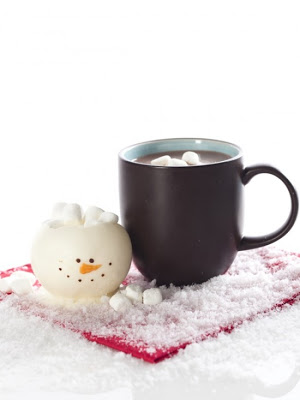 Adorable Chocolate Snowman Cups
