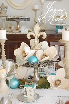 Joyeux Noel – Turquoise & Cream Christmas Celebration