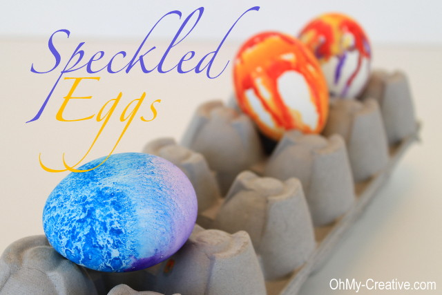 How to paint Easter Eggs designs with watercolor paint. Explore unique ways to create Watercolor Easter Egg Designs using watercolor paints and unusual techniques! What pretty Easter Eggs Designs! | OHMY-CREATIVE.COM