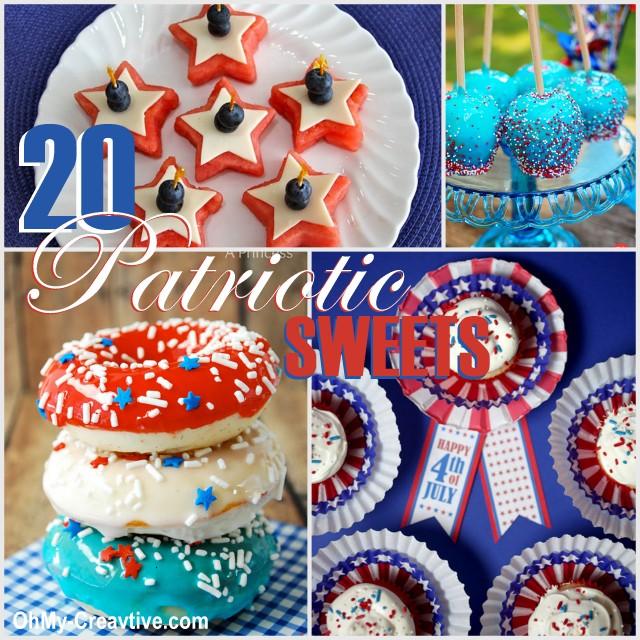 20 Patriotic Sweet Desserts | OHMY-CREATIVE.COM