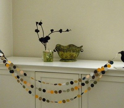 Halloween Crow Garland