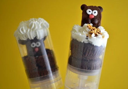 Groundhog day pushup pop dessert