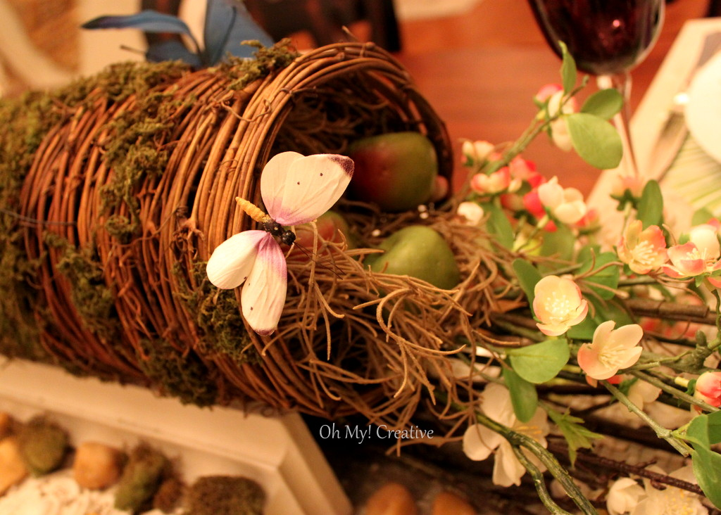 Tablescape – Table Setting Using Natural Elements
