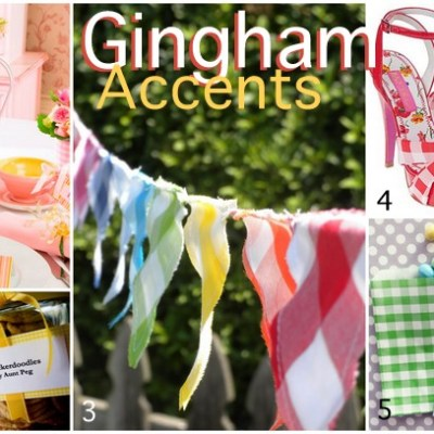 10 Ways To Use Gingham Accents For Spring