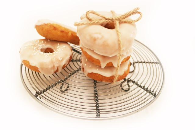 Pear and Elderflower Doughnuts Recipe