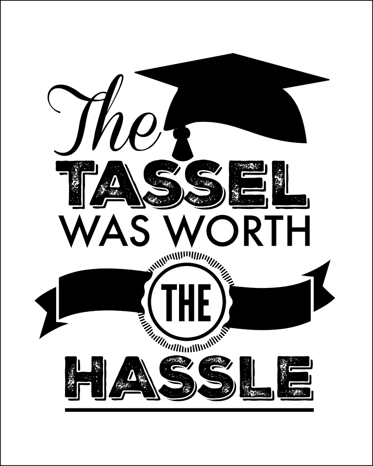 image relating to Free Printable Funny Graduation Cards known as 25 Commencement Celebration Themes, Tips and Printables