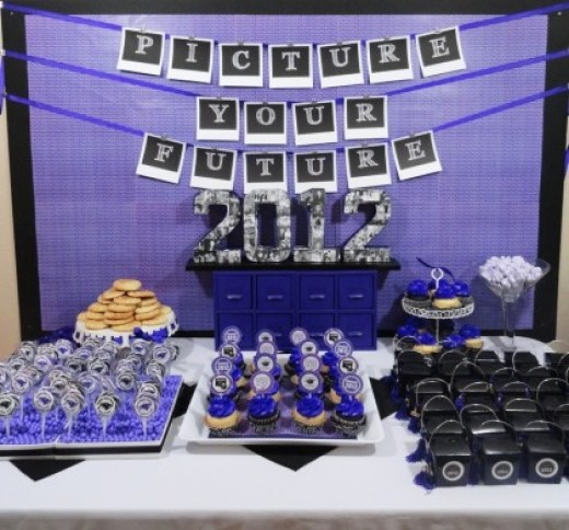 25 Awesome Graduation party themes and printables, Girls Graduation Party Ideas, Boys Graduation Parties Ideas | OHMY-CREATIVE.COM