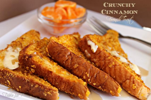 Crunchy Cinnamon French Toast Recipe