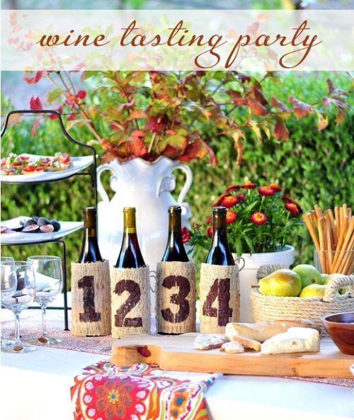 Wine Tasting Milestone Birthday Party 30th, 40th, 50th, 60th Birthdays