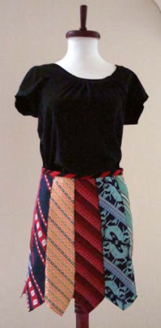 How to Make a Necktie Skirt