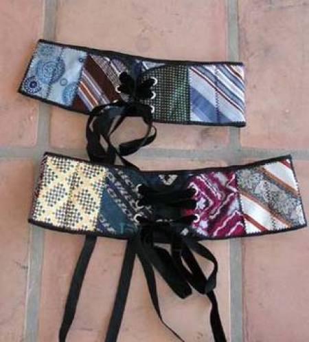 Necktie Corset Belt!