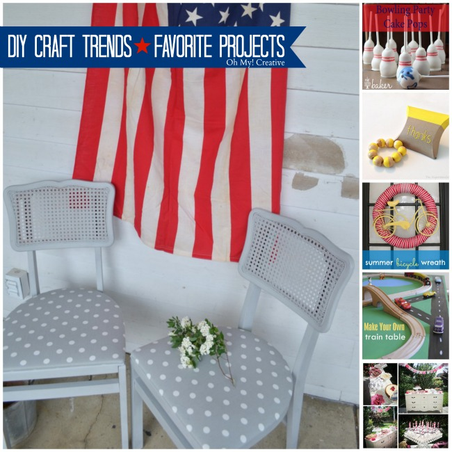 DIY Craft Trends & Favorite Projects - OhMy-Creative.com