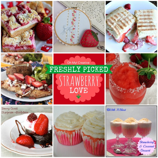 Strawberry Recipes and Projects to Make