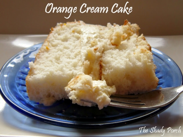orange cream cake recipe