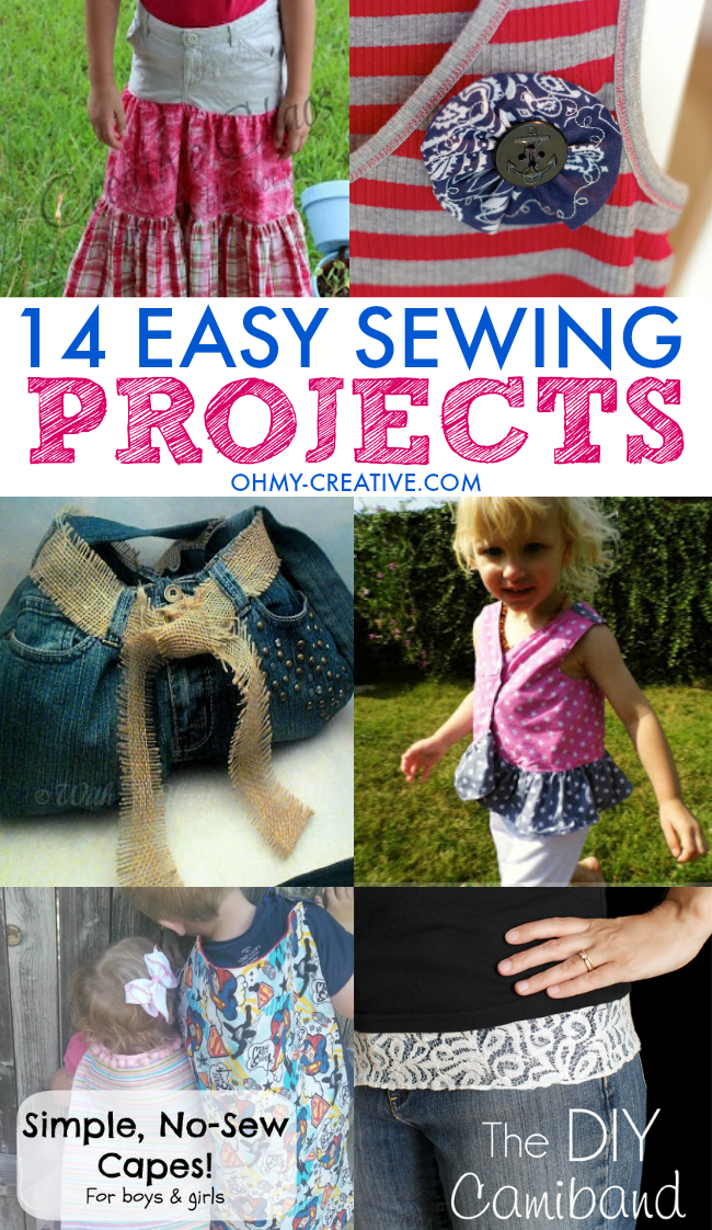 14 Easy Sewing Projects