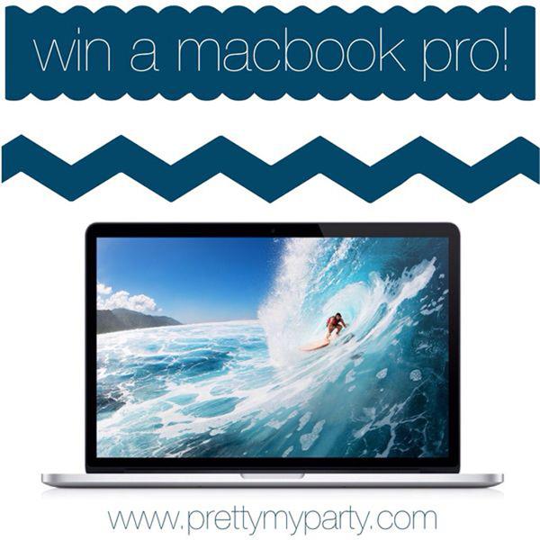 win a macbook laptop- giveaway