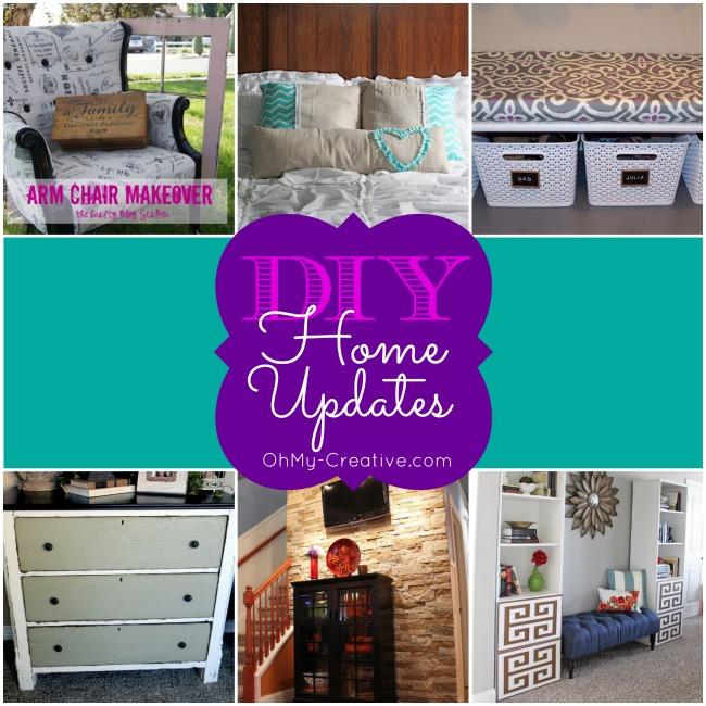 DIY Home Updates - OhMy-Creative.com