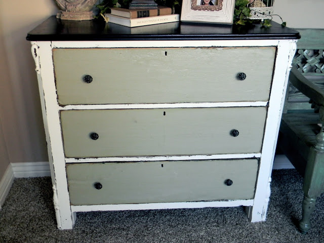 Upcycled old dresser