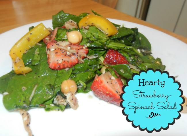 Hearty Strawberry-Spinach Salad