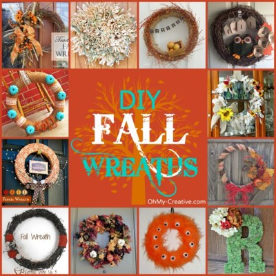 Do It Yourself Fall Wreaths