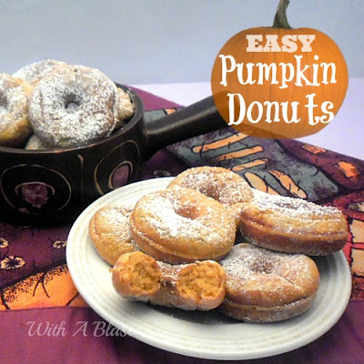 Easy Pumpkin Donuts Recipe