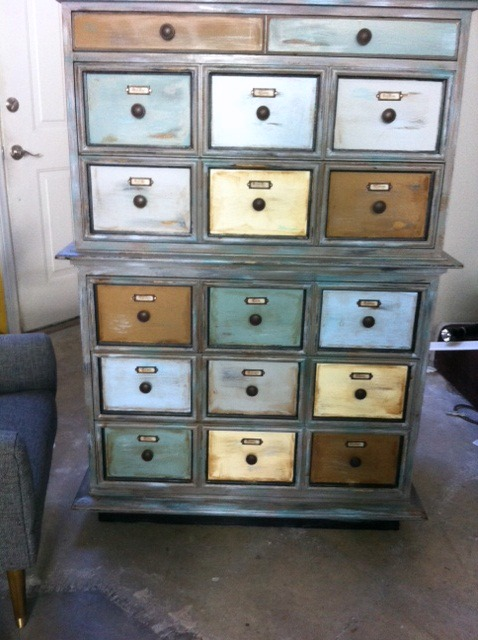 Goodwill Dresser to Apothecary Cabinet