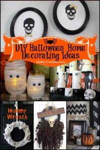 16 Do It Yourself Halloween Home Decorating Ideas - Oh My ...